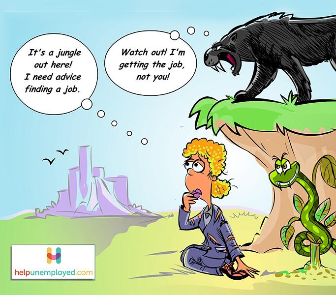 comic about job search